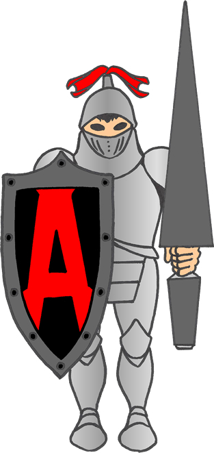 Armer Protection knight logo